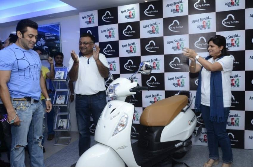 Launch of Suzuki Access 125 Special BH Edition Photos