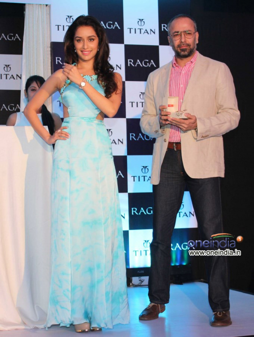 Shraddha Kapoor launches Titan Raga new collection Photos