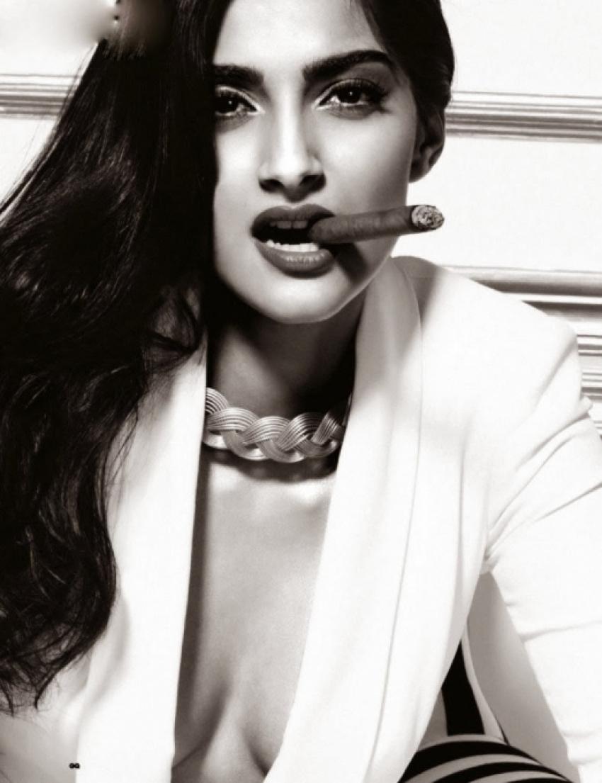 Sonam Kapoor GQ Men of the Year Oct 2013 photoshoot Photos