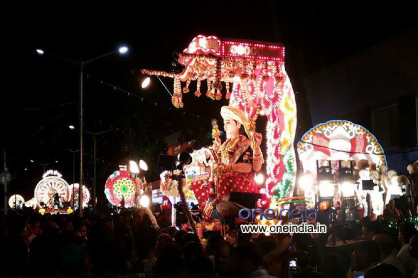 Sharadotsav Procession Photos