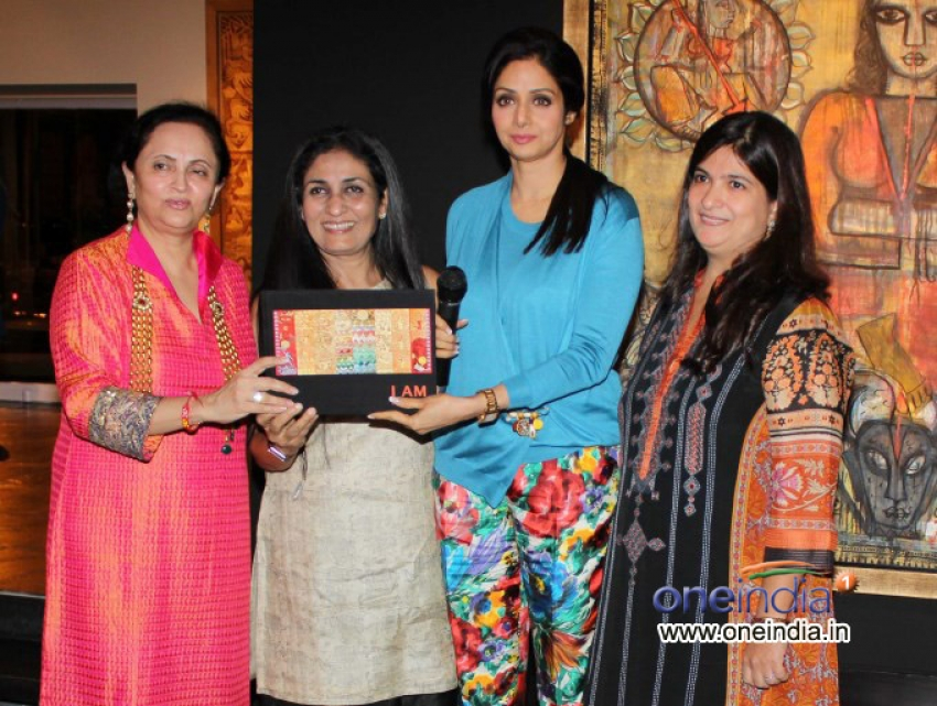 Sridevi at Rini Dhumal and Seema Kohli's Art Showcase Photos