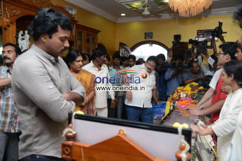 Telugu Actor Srihari Death Condolence Meet Photos