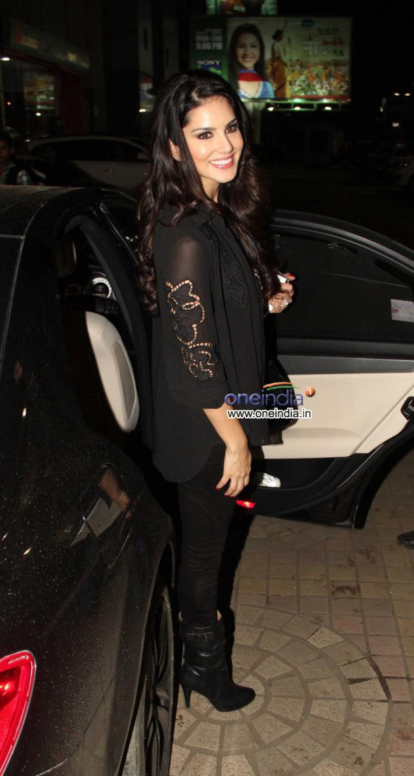 Sunny Leone snapped with Daniel Webber Photos
