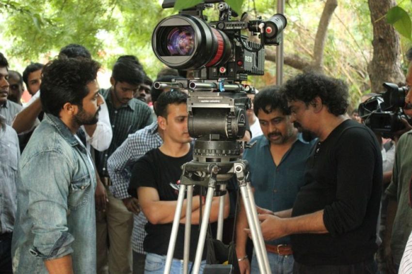 Suriya and Lingusamy New Movie Onlocation Photos
