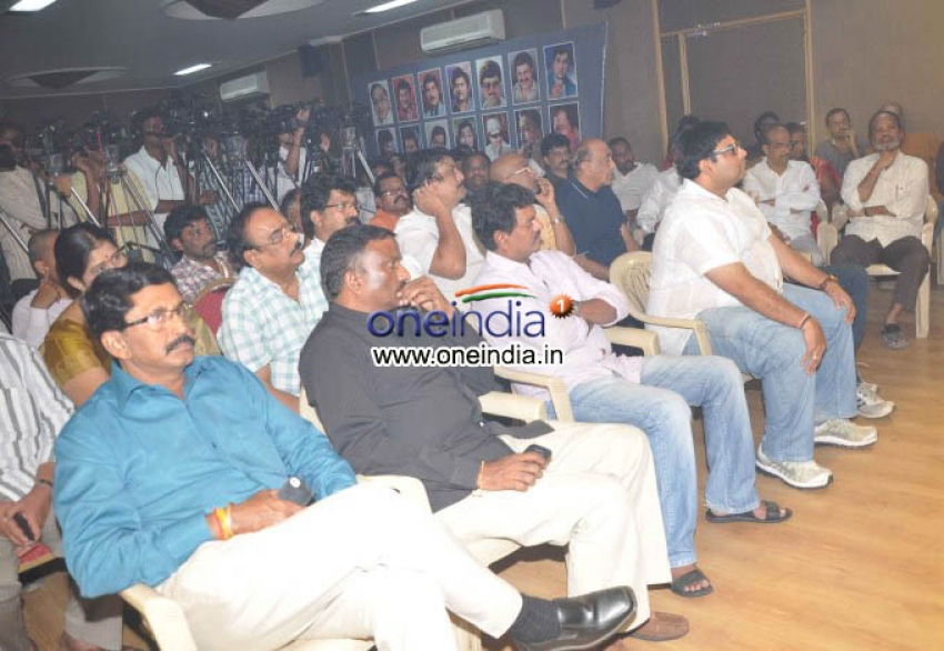 Telugu Actor Srihari Santhapa Sabha Photos