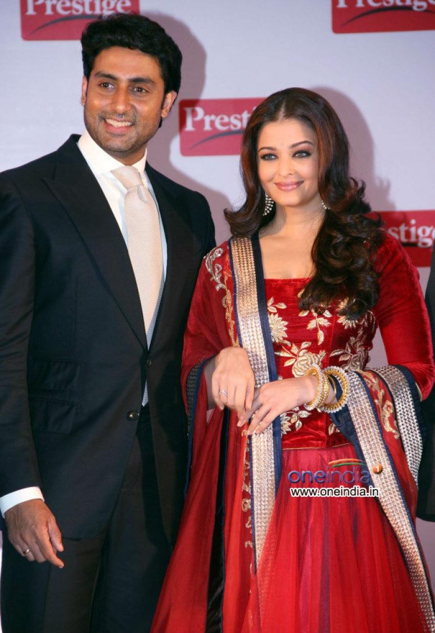 TTK Prestige announces Aishwarya & Abhishek as their brand ambassadors Photos