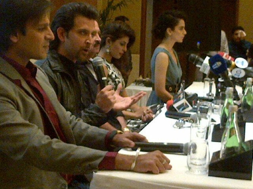 Krrish 3 film promotion at Dubai Photos