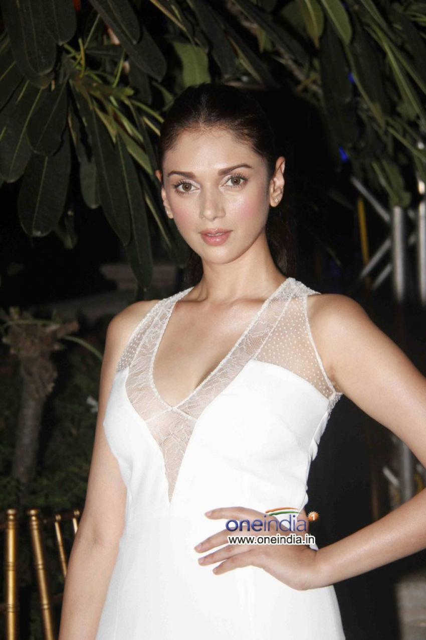 Aditi Rao Hydari walks the ramp at the Spanish Fashion Show Photos