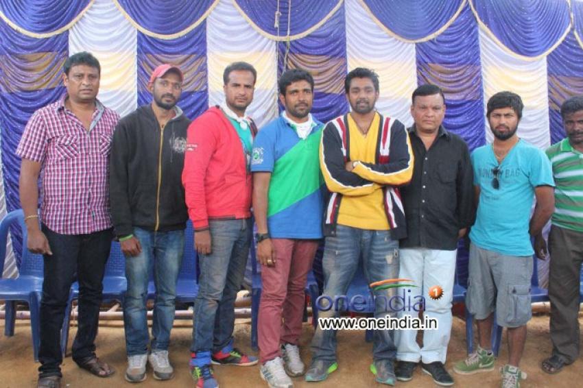 Bahaddur Film Shooting Photos