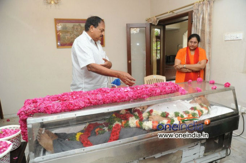 Celebs pay Homage to Producer Vadde Ramesh Photos