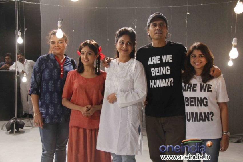 Music video shoot of film Lakshmi Photos
