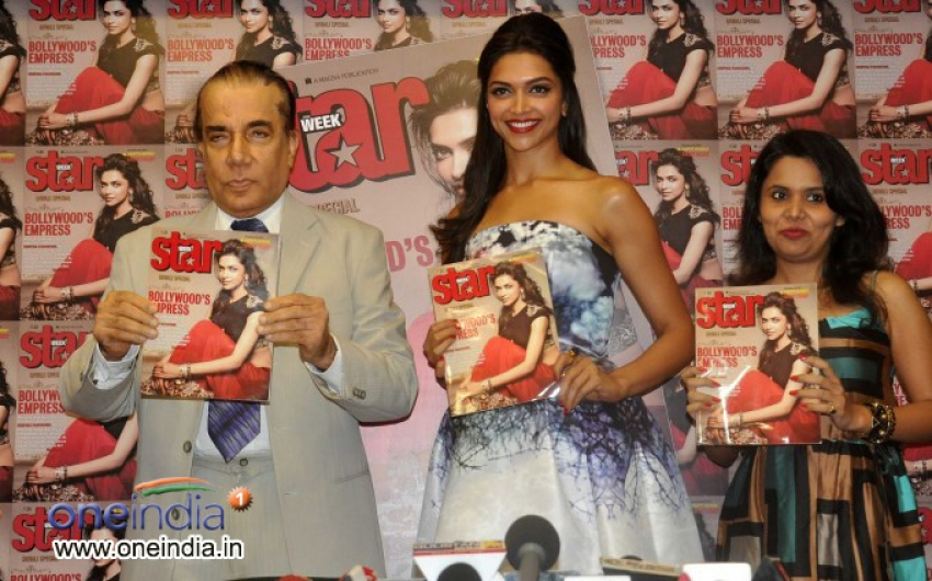 Deepika Padukone unveils Star Week's Diwali edition Photos