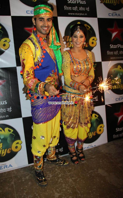 Diwali Celebration on the Sets of Nach Balliye Photos