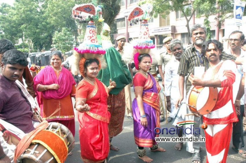 FEFSI Procession to Meet Hon'ble CM Photos