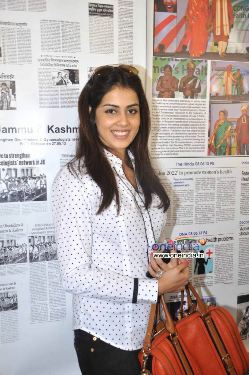 Genelia D'Souza At Fogsi Press Meet Photos