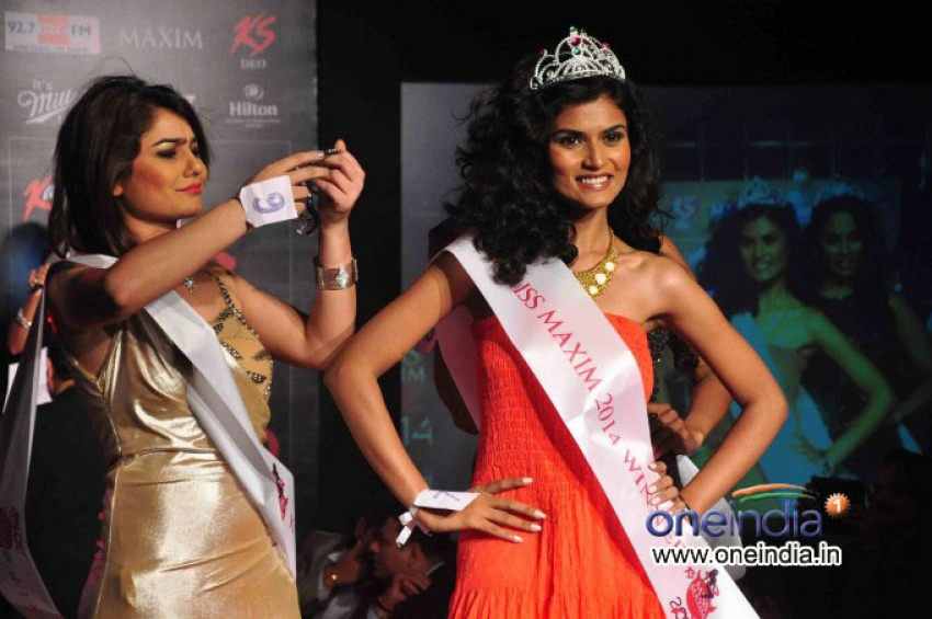 Grand finale of KamaSutra Miss Maxim 2014 Photos