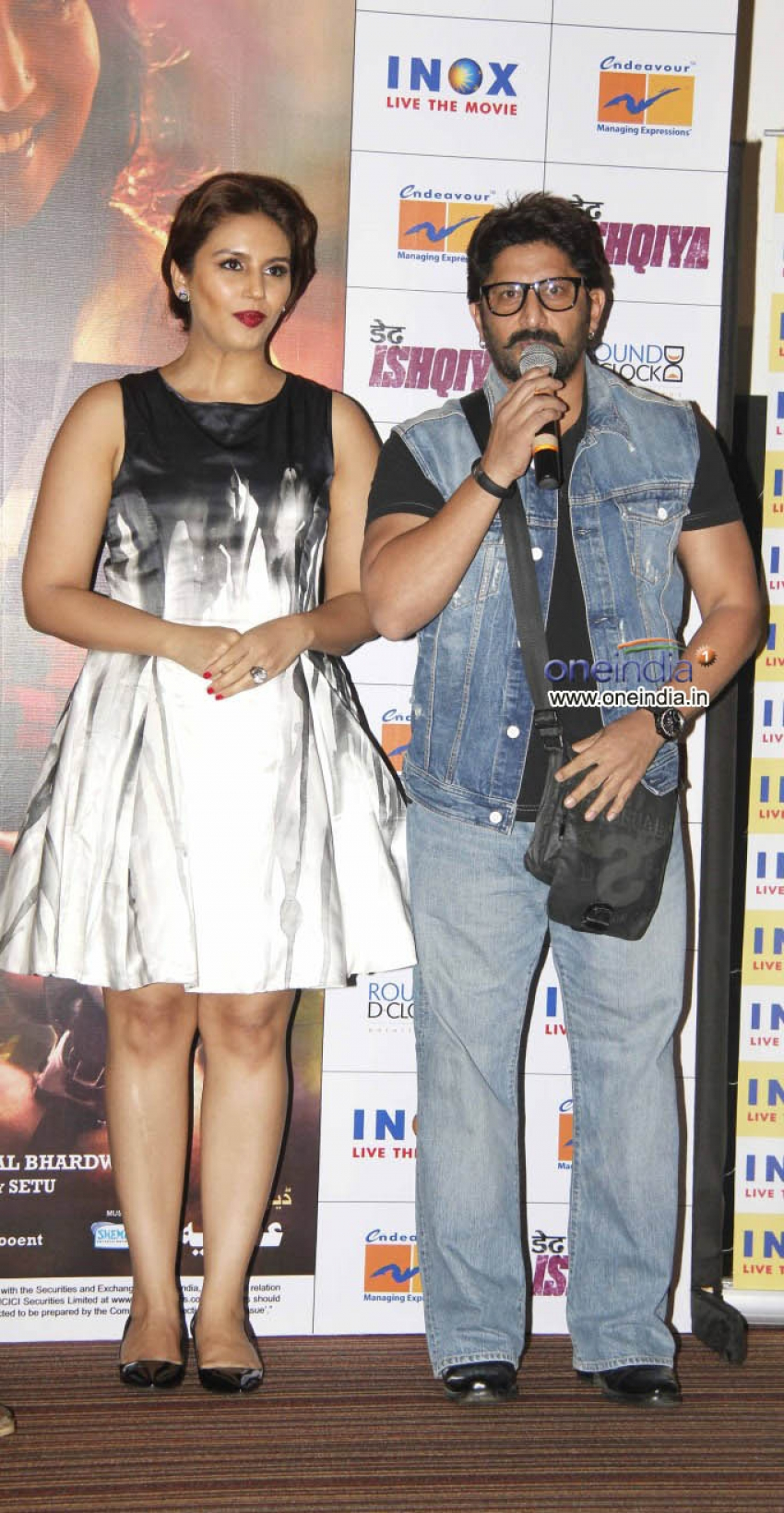 Dedh Ishqiya Theatrical Trailer Launch Photos
