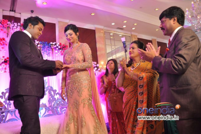 Karan Raj's Engagement Party Photos