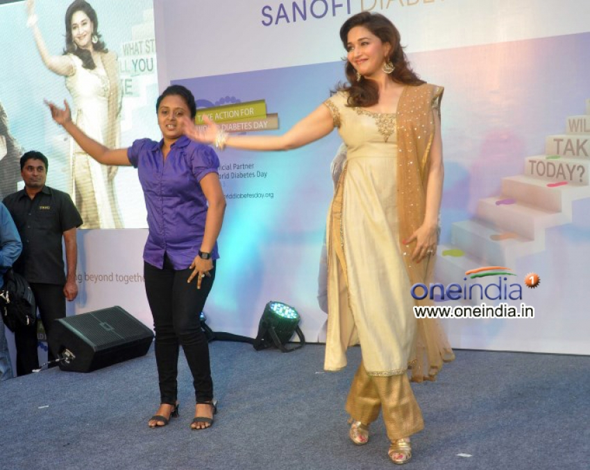 Madhuri Dixit launches diabetes campaign What Step Will You Take Today Photos