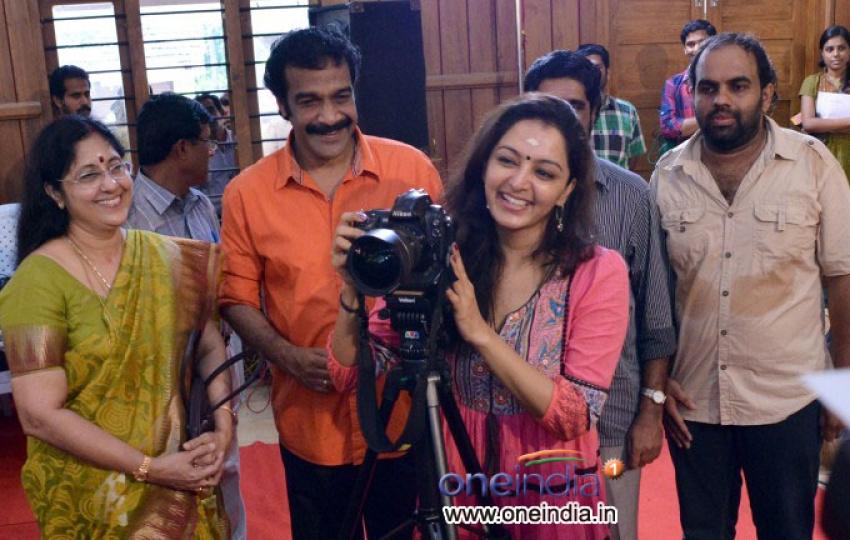 Manju Warrier Inaugurates Life Through Lens Exhibition Photos