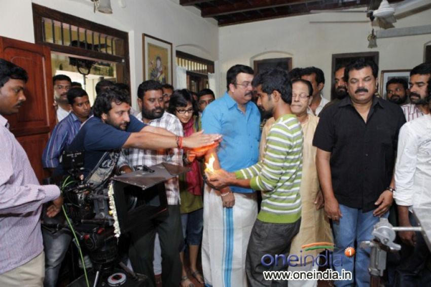 Mannar Mathai Speaking 2 Film Pooja Photos