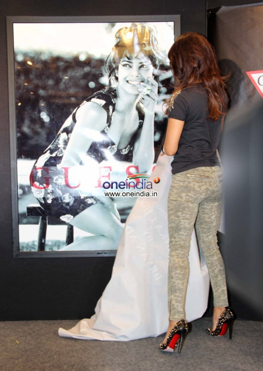 Priyanka Chopra Launches New Collection of GUESS Photos