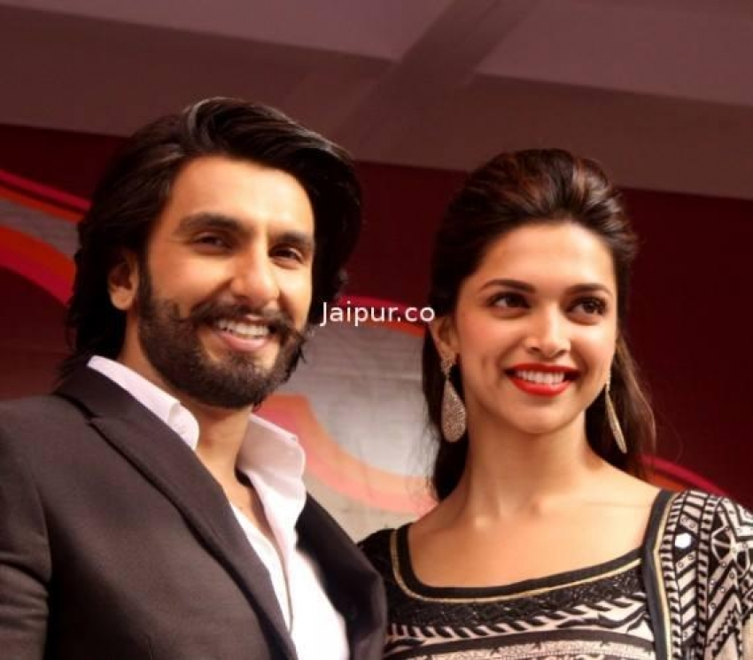 Ram Leela film promotion at Delhi and Jaipur Photos