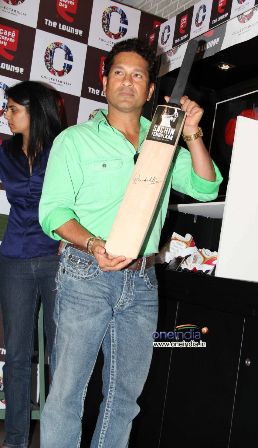 Sachin Tendulkar at the promotion of Cafe Coffee Day Photos