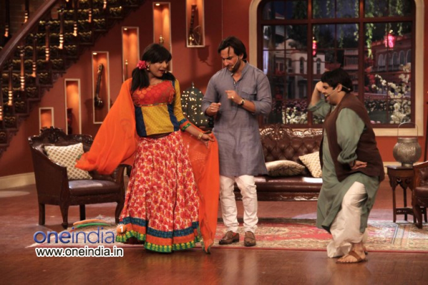 Bullet Raja film promotion on the sets of Comedy Nights with Kapil Photos