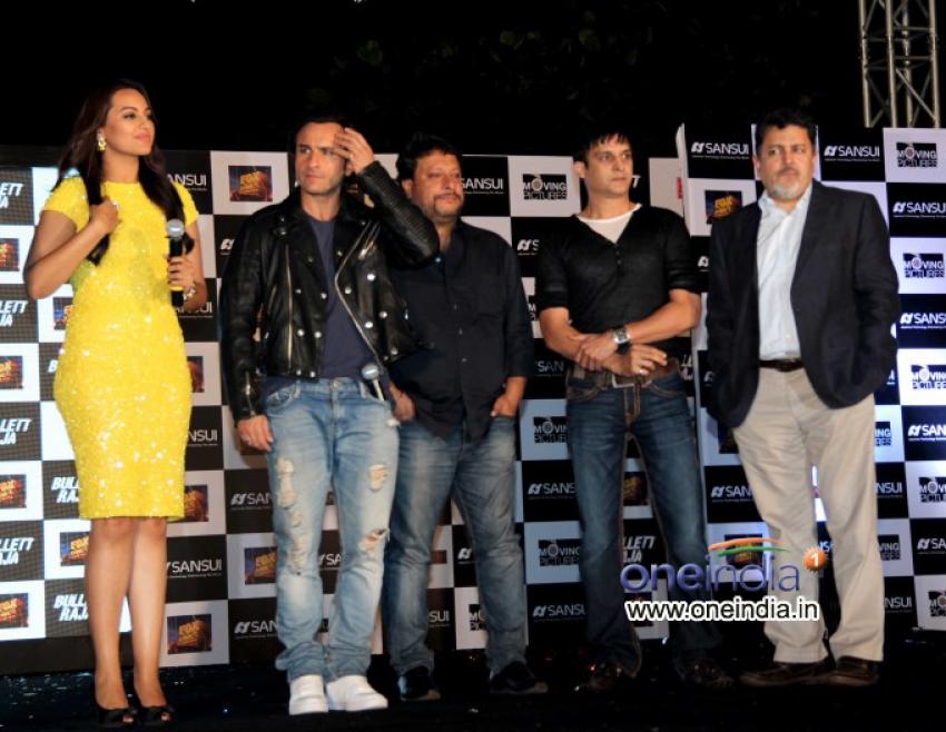 Press meet of film Bullet Raja at Taj Lands End Hotel Photos