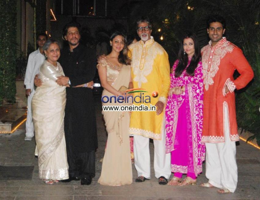 Amitabh Bachchan Diwali Bash 2013 Photos