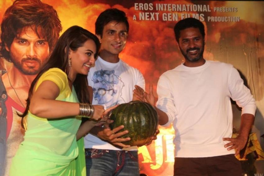 Launch of R... Rajkumar second trailer Photos