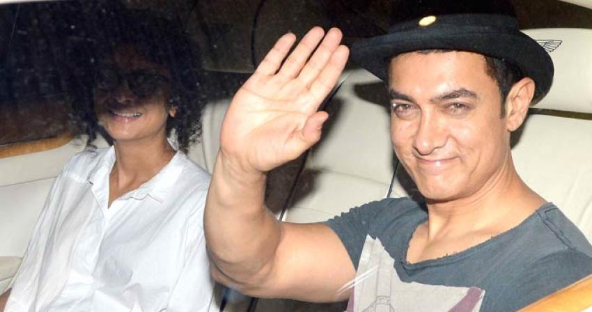 Aamir Khan's son Azad Rao Khan 2nd birthday bash Photos