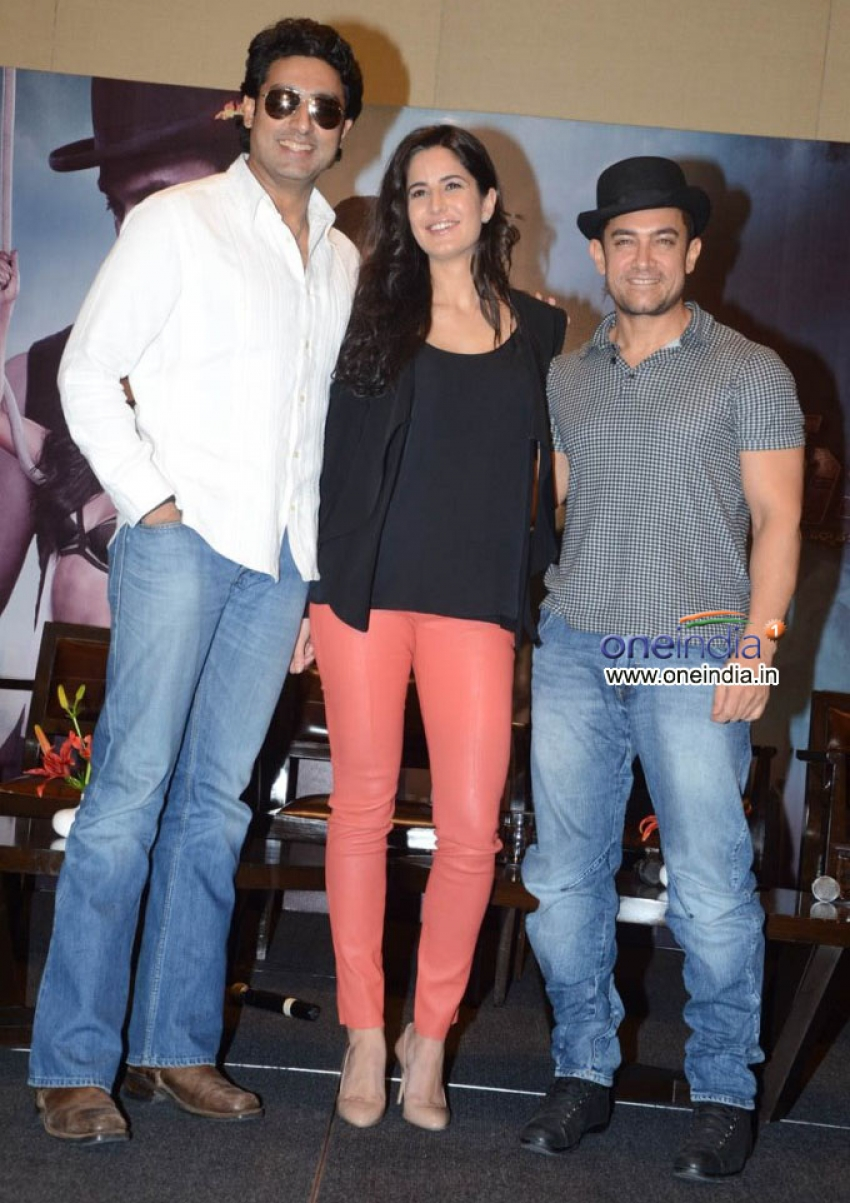 Dhoom 3 film promotion at Hyderabad Photos