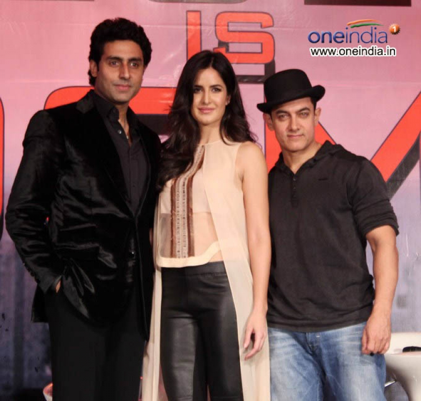 Dhoom 3 Press Conference Photos