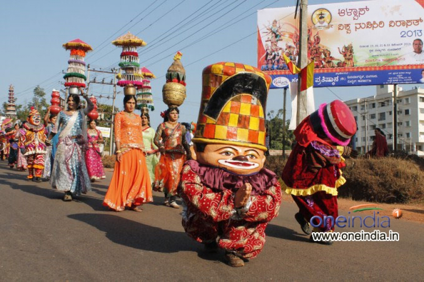 Alva's Vishwa Nudisiri Virasat - 2013 Photos