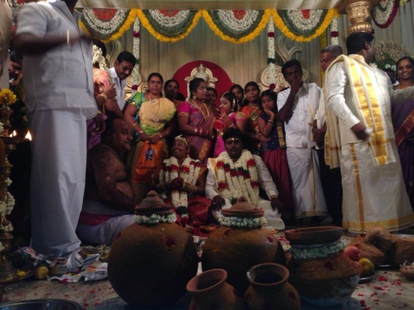 Black Pandi Marriage Photos