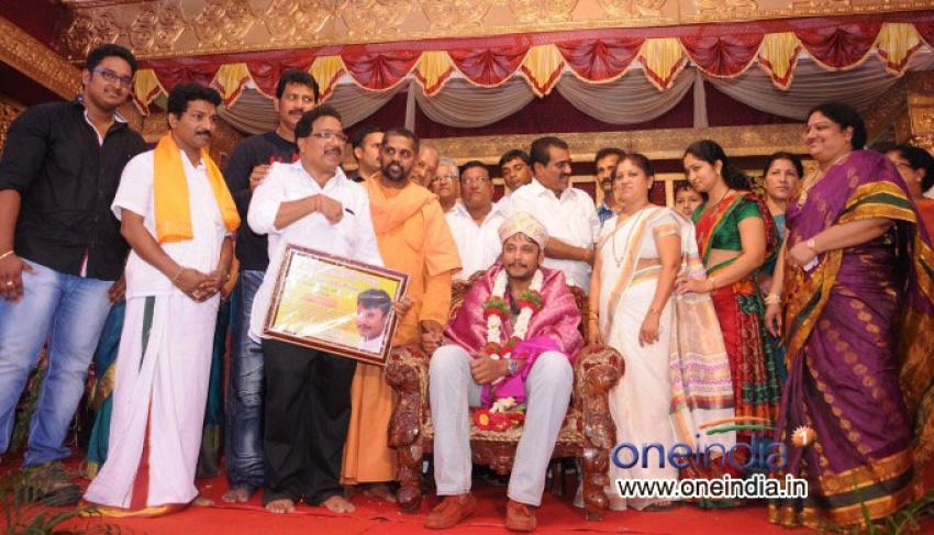 Brahmashree Narayana Guruswamy Tulu Film Pooja Photos