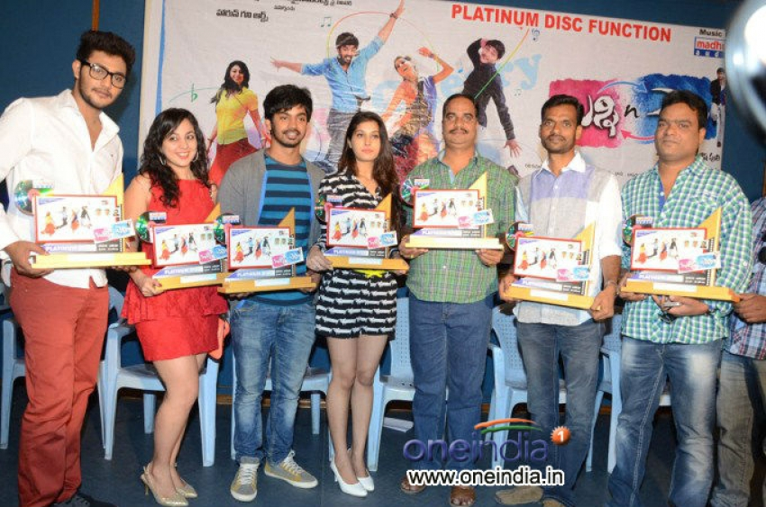 Bunny and Cherry Platinum Disc Function Photos
