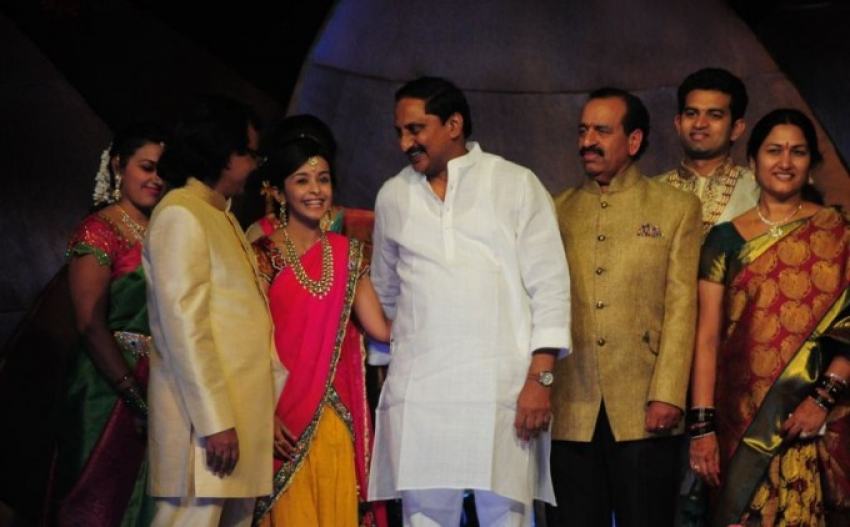 Dil Raju Daughter Hanshitha's Engagement Photos
