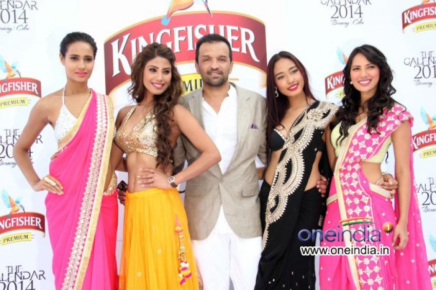 Launch of Kingfisher Calendar 2014 Photos
