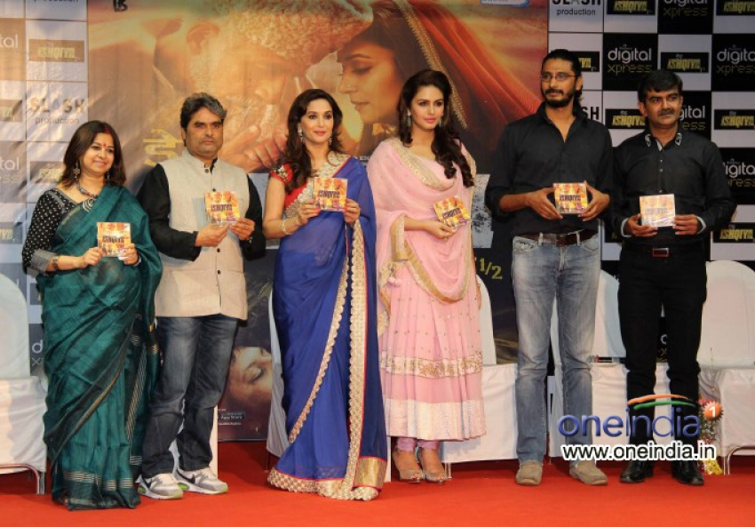 Music Launch Of Film Dedh Ishqiya Photos