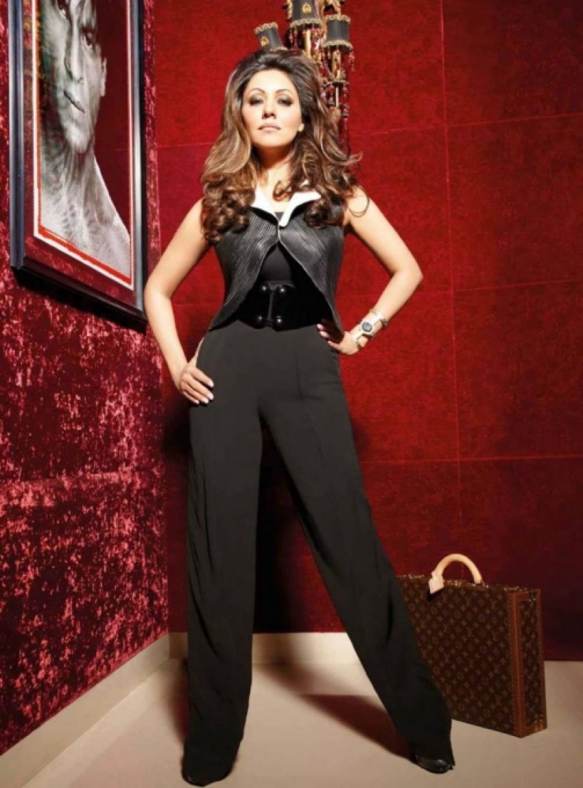 Gauri Khan's photo shoot for Noblesse India December 2013 issue Photos