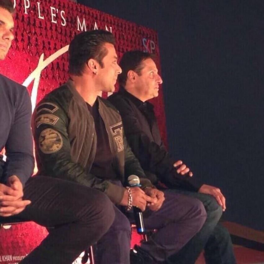 Jai Ho Trailer Launch by Sohail Khan and Salman Khan Photos