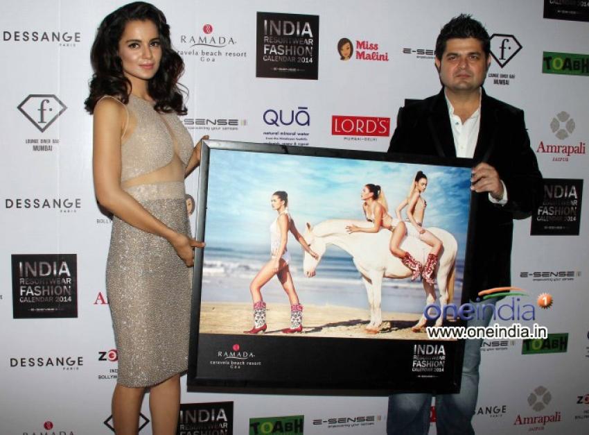 Resortwear 2014 fashion calendar launch Photos