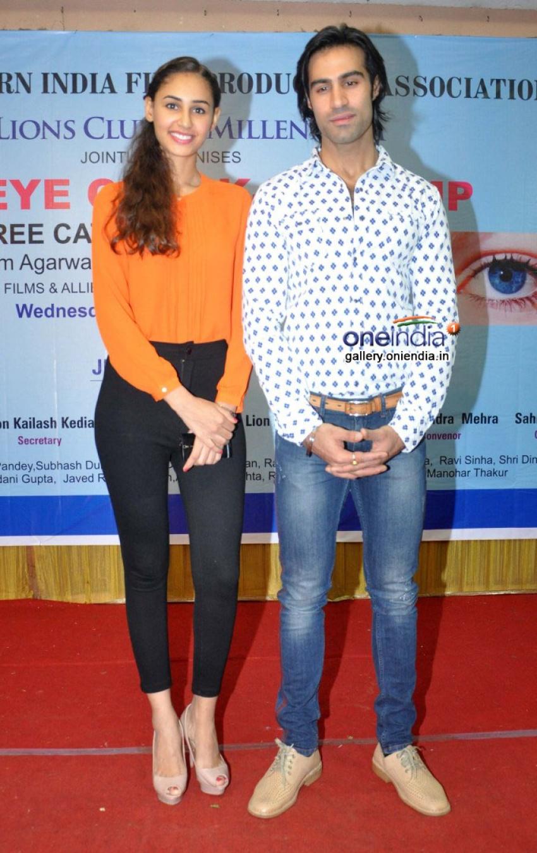 Karle Pyaar Karle film promotion at Lions Club's medical eye camp Photos