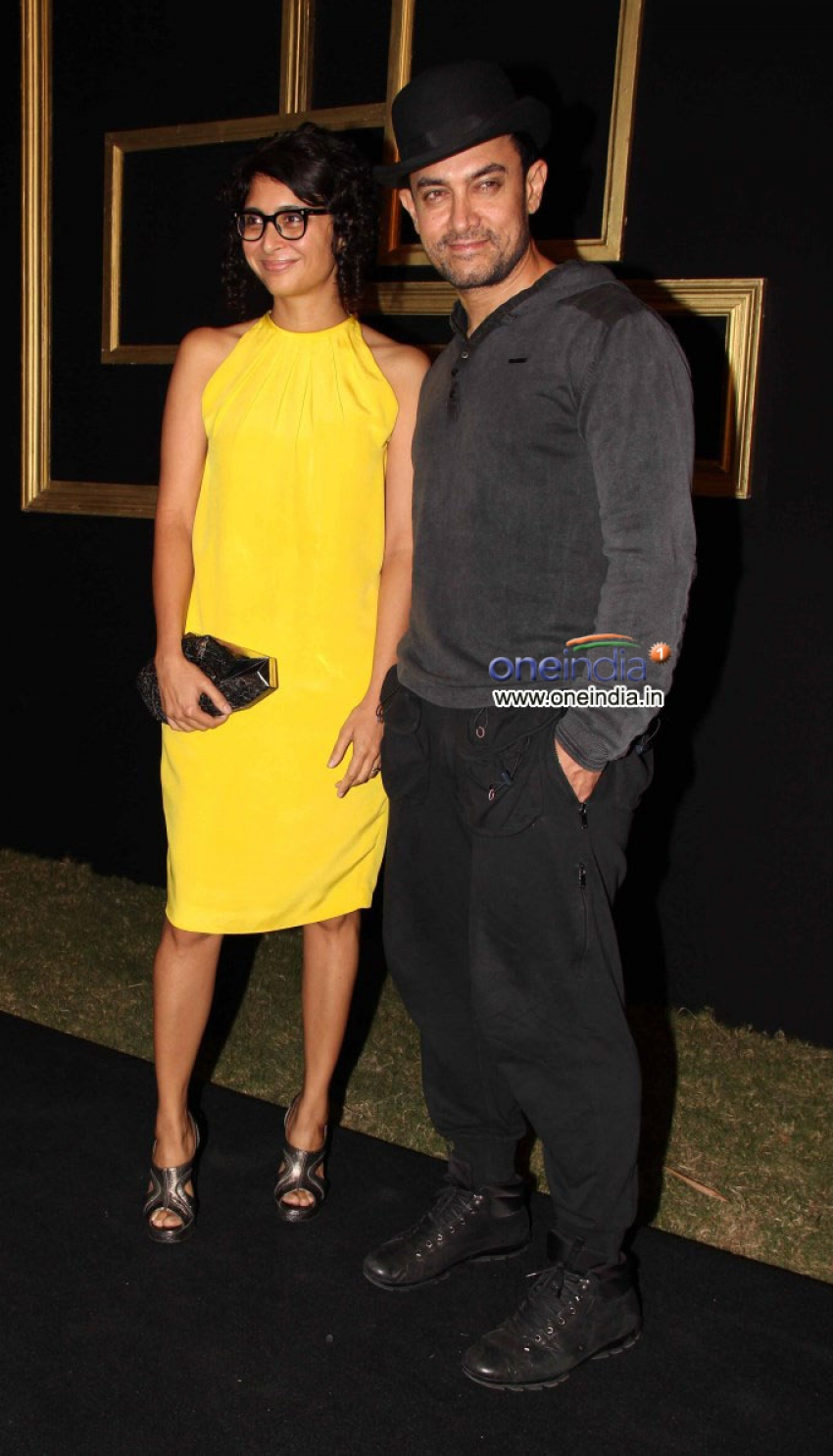Deepika Padukone's Black & Gold Party Photos