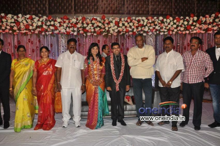 Music Director Sekhar Chandra Wedding Reception Photos