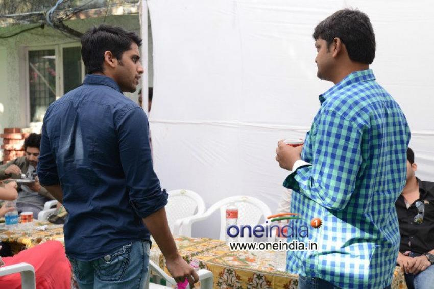Naga Chaitanya's New Movie Muhuratam Photos