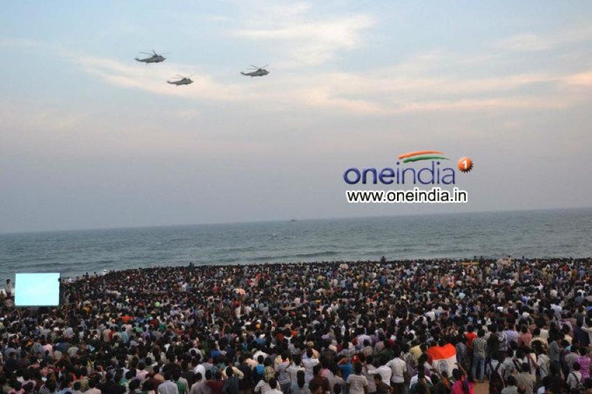 Navy day Celebrations at Vizag Photos